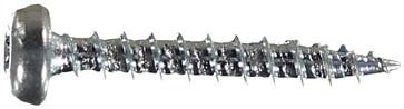 WOODSCREW 3,0 X 20 PANHEAD ZINC PLATED 127107