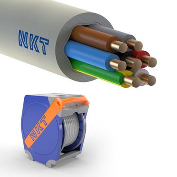 Installationskabel 7G2,5 NOIKLX90 lysegrå Qaddy 350m 172547032Q0350
