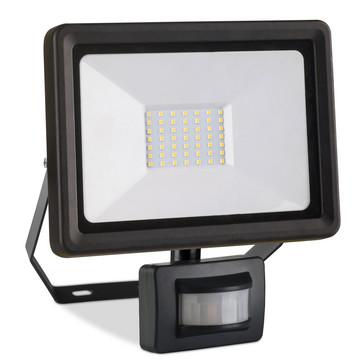 UNITE Projektør 3650lm 50W IP44 med PIR sensor 2350A-2C