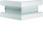 Udvendigt hjørne plast for BR65170 RAL 9016 BR6517039016 miniature