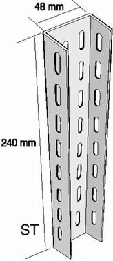 EDF2/2000GC - EDF mounting rail 561013
