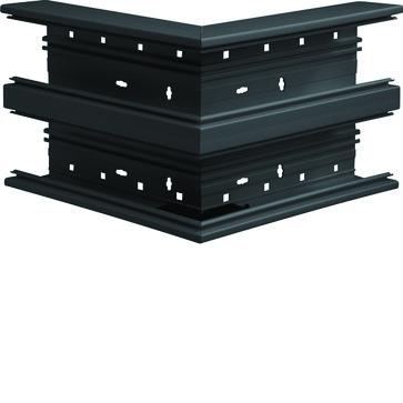 Udvendigt hjørne plast for BR65210D RAL 9011 BR652103D9011