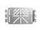 Montageplade rustfri uden huller 739R miniature