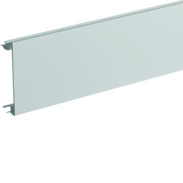 Installationskanallåg BR65 i plast højde=80mm RAL 7035 BR08027035