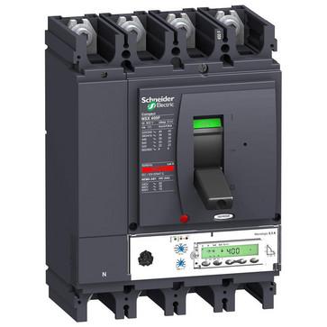 Maksimalafbryder NSX400F+Mic5.3A/400 4P LV432679