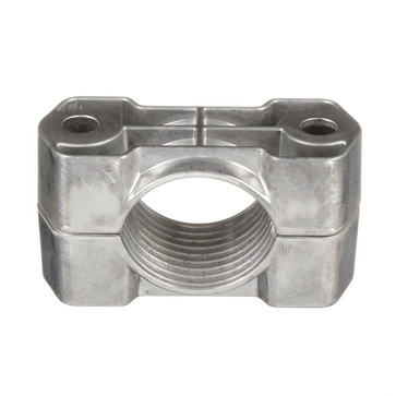Cable Cleat, Aluminum, 2-Hole Configuration w/a Cable Diameter of 46-58mm CCAL2H4658-X