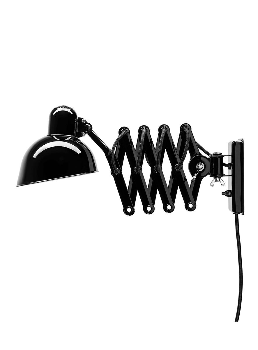 Kaiser idell 6718-W Sort Væglampe
