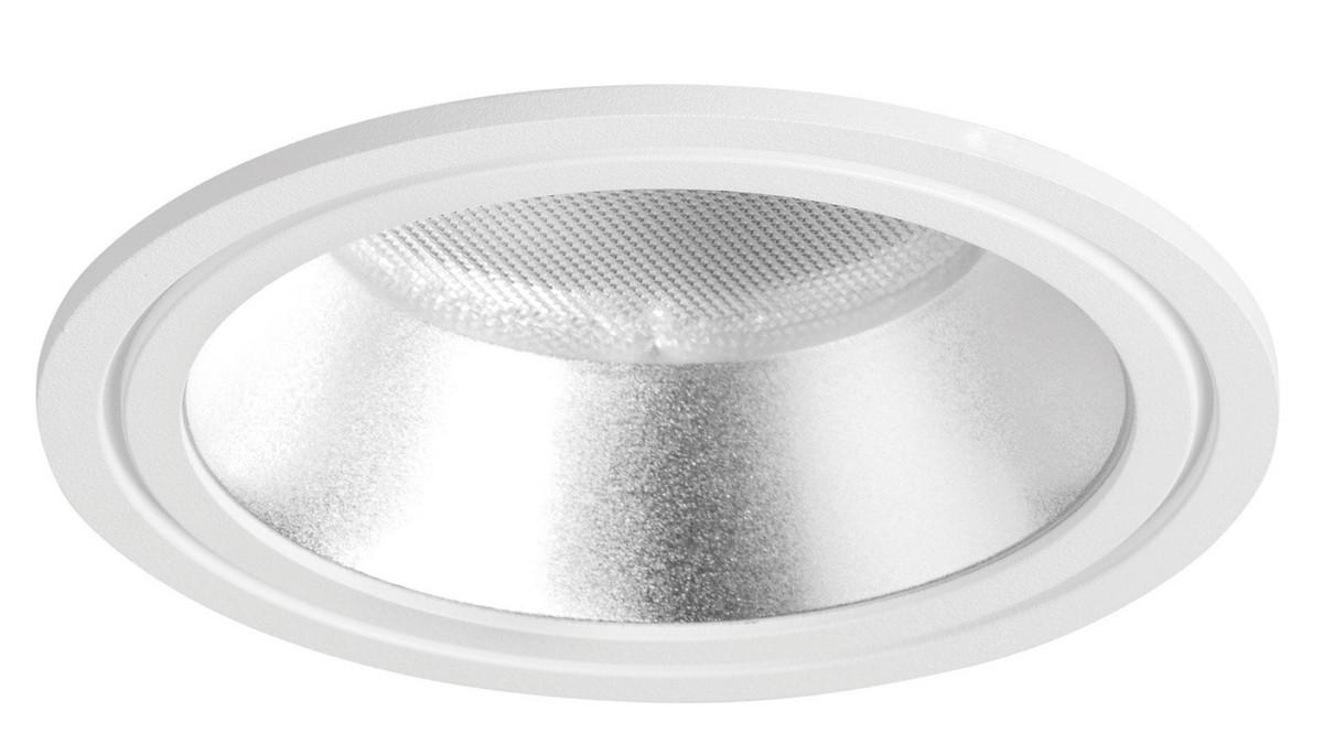 Prettus S OMS 1400lm/15W/83 LED Dali mat reflektor Ø154 indbyg