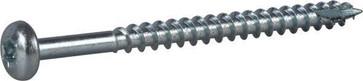 Wood Screw Full Thread Pan Head 127199
