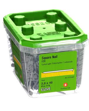 NAIL SQUARE HDG  2,0 X 40 777357