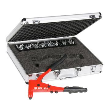 MFX150AS MFX enhåndstang med nitte sortiment i alu kuffert T43105150AS