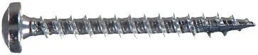 WOODSCREW 3,5 X 30 PANHEAD ZINC PLATED 127121