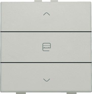 Motortryk enkelt, light grey, NHC 102-51033