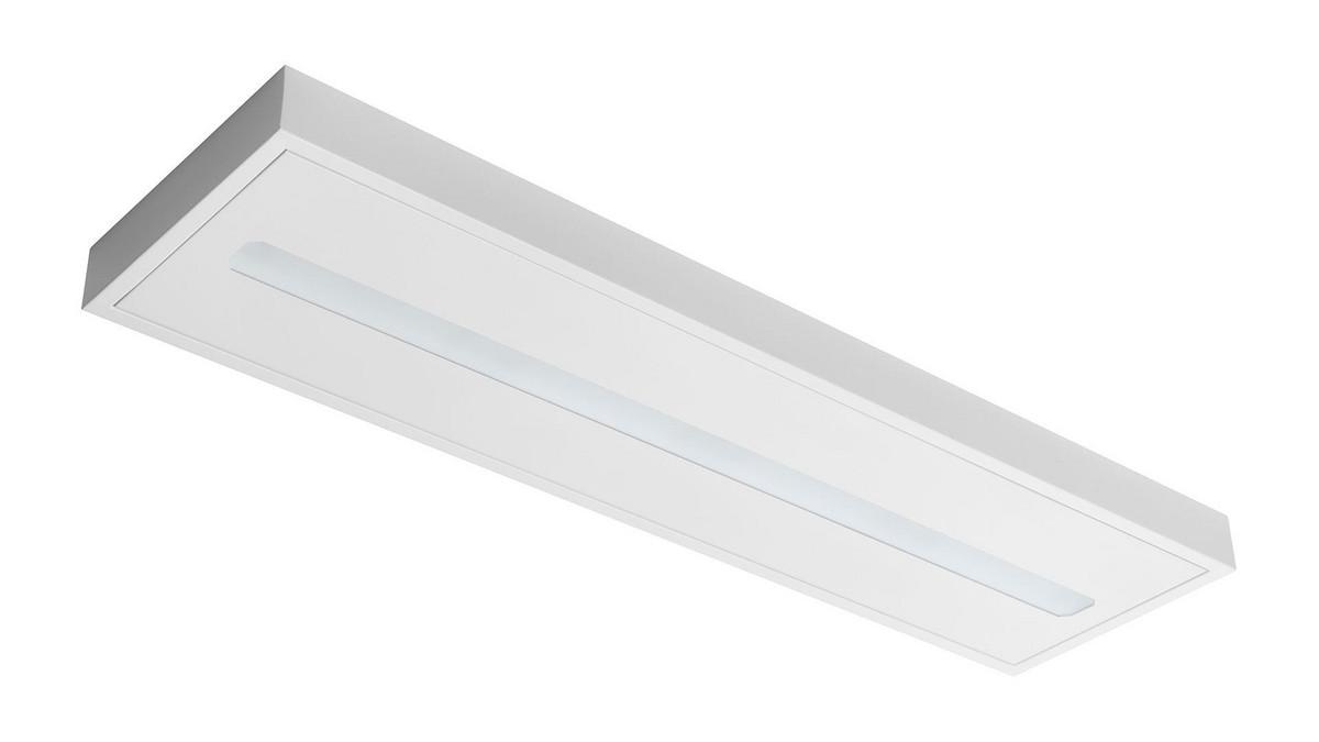 Freyn II OMS 3000lm/22W/840 LED FIX 120x30 nedhængt/påbyg mikroprismatisk hvid