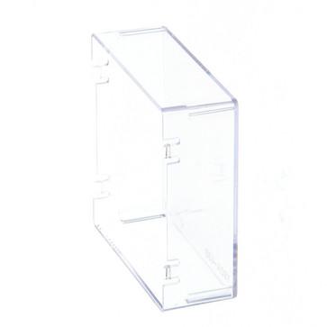 Beskyttelsescover til DIN 48x48 mm enhed, hård plast Y92A-48B (HARD) 120938