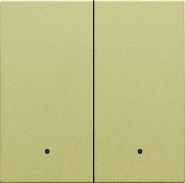 Tangent til smart 2-tryk med linse, gold coated 221-32004