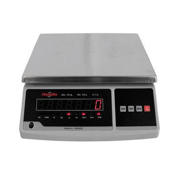 Bordvægt 15 kg / inddeling 2,0 g med LED display 18560225