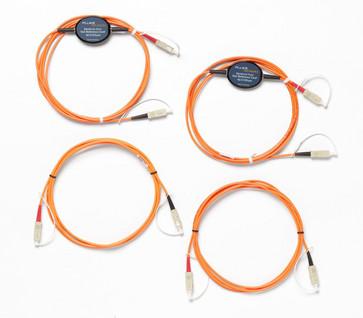 Fluke test kabel sæt multimode 62,5µm SC/SC 4322722