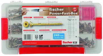 Fischer Power fast box spånskrue sortiment 667005