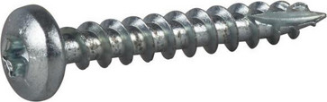 Wood Screw Full Thread Pan Head 127169