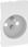 LK FUGA antibakteriel afdækning for stikkontakt med pindjord 1½ modul, hvid 580D6671 miniature