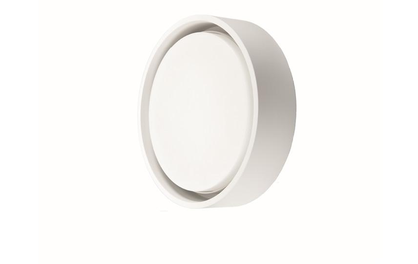 Frame Round Hvid LED 3000K Sensor
