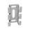 Vægholder rustfri 75 til 120mm 735R miniature