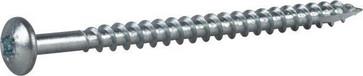 Wood Screw Full Thread Pan Head 127179
