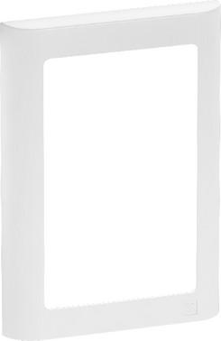 LK FUGA antibakteriel SOFT designramme 1½ modul, hvid 580D6115