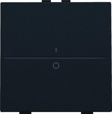 Tangent med IO symedbol til 2-tryk, black coated 161-00002