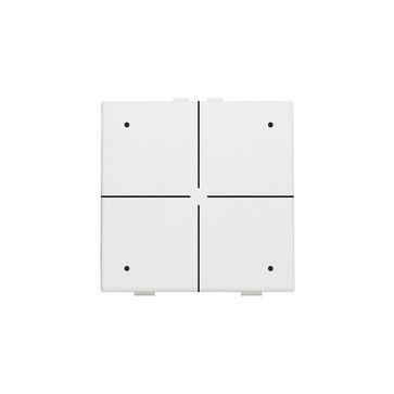 4-tryk med LED, white, NHC 101-52004