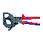 Kabelsaks (Skraldeprincip) med flerkomponent-håndtag 280 mm 95 31 280 miniature