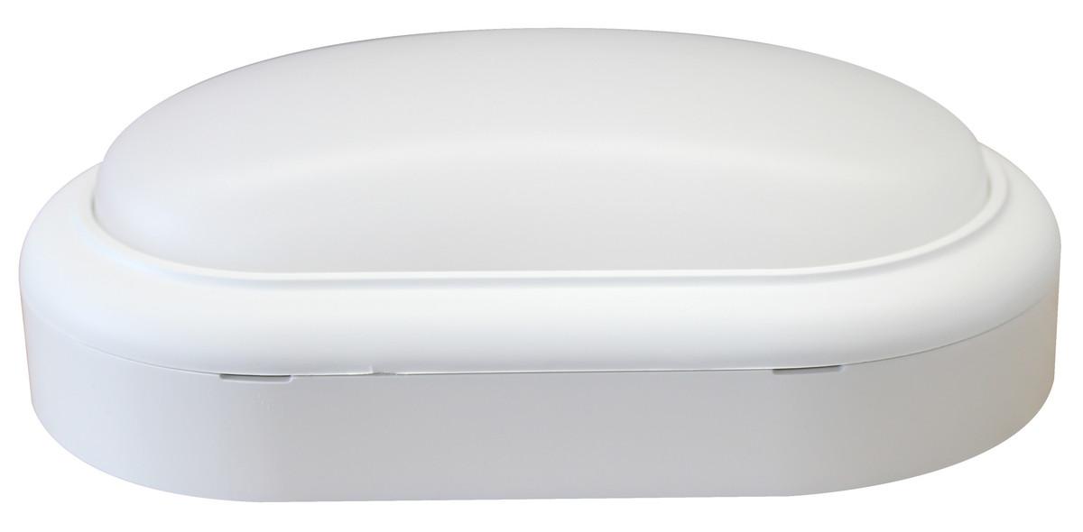 MAZDA Væg- og Loftarmatur LED WL007C 15W 1400lm 4000K Oval