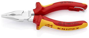 Knipex spids kombinationstang forkromet 145 mm 08 26 145 T
