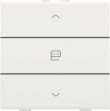 Motortryk enkelt, white coated, NHC 154-51033