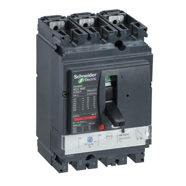 Maksimal afbryder NSX160N+TM125D 3P3D LV430841