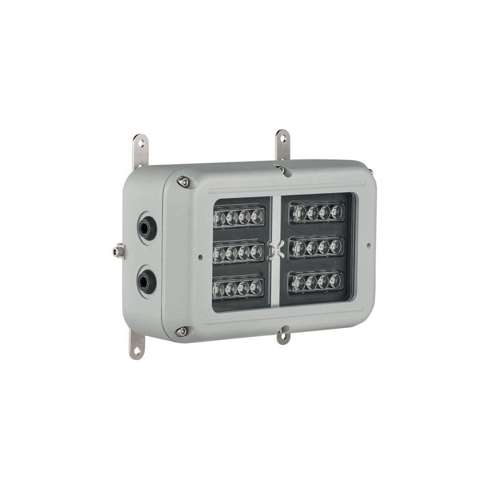 SPARTAN Bulkhead 24 LED, Zone 1/21, White-Light 50°x50° beam - Intelligent Emergency Variant