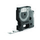 DYMO D1 Durable 12 mm x 5.5 M. Sort/Hvid 9797100800