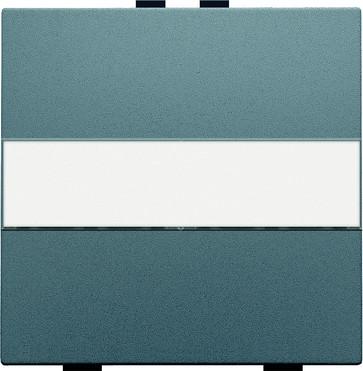 Tangent med tekstfelt til 2-tryk, steel grey coated 220-00006