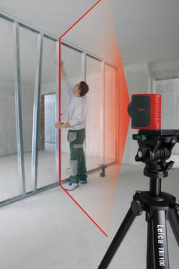 TRI100 camera tripod in aluminum 5706445690138
