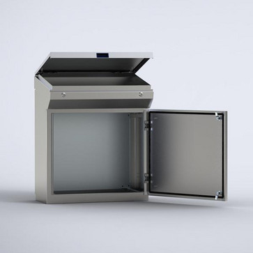 Rustfri stål pult 985x1000x400 MPGS10 MPGS10