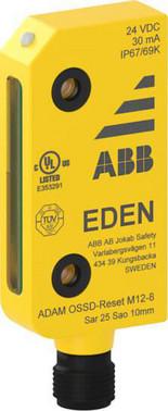 Reset med indikation, 8-polet M12, IP69K Adam OSSD-Reset M12-8 2TLA020051R5900