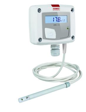 KIMO CTV110-AOD150, Lufthastighedstransmitter: 0,,30 m/s 5706445791620