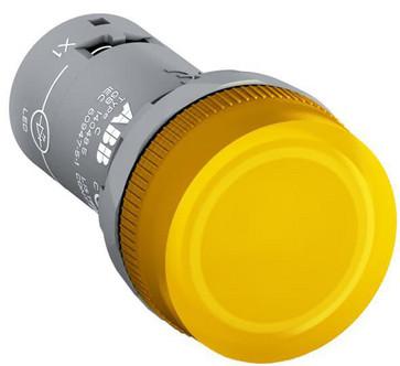 Signallampe gul med ba9s fatning CL-100Y 1SFA619402R1003