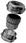 Forskruning PG 13 messing Ø7-13 IP68 C5013000 miniature