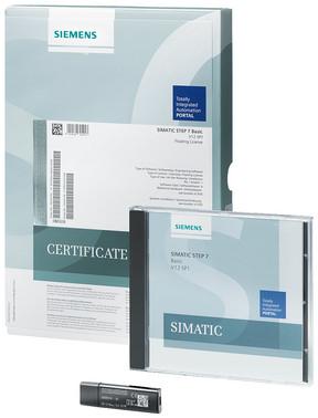 SIMATIC STEP 7 Basic V14, Trial licens for 21 dage; engineering software i TIA Portal 6ES7822-0AA04-0YA7