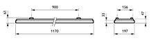 Philips CoreLine Påbyg Interact Ready SM134V LED 3700lm/830 20x120 NOC/UGR>19