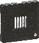 FUGA afdækning for IHC temperatursensor koksgrå 530D8534 miniature