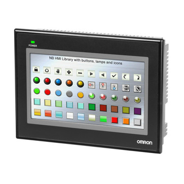 Touch screen HMI, 7 tommer WVGA (800x480 pixel), TFT farve NB7W-TW00B 392040