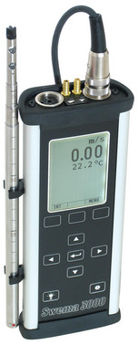 Swema 3000MD test kit with SWA-31E probe and hard box 5706445560226